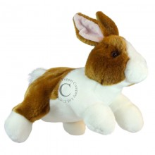Full Bodied Rabbit Brown and White PC 1811