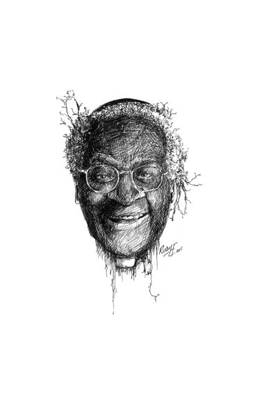 Desmond Tutu - South African Clergyman