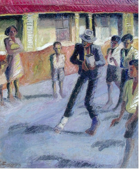 Dancer in District Six - SOLD