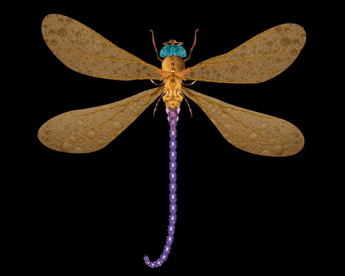 Damselfly (portrait of Darlene) 2005