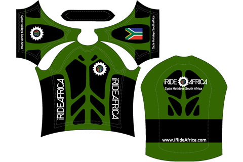 Mens South African cycling Jersey