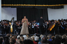 Nonhlanhla Yende in performance