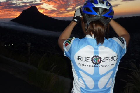 Ladies SA cycling jersey