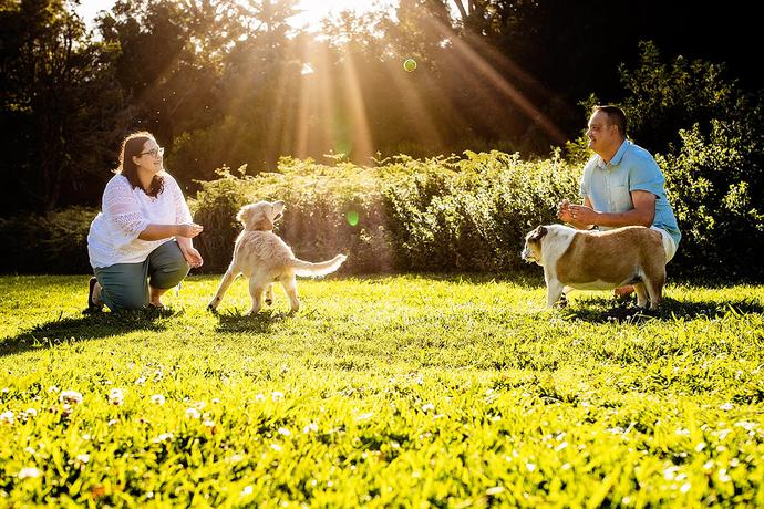 Family and Pet photographer in George.