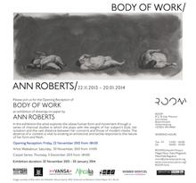 Thumbnail for Body of Work at ROOM Braamfontein