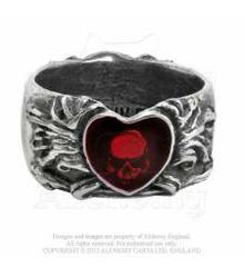 R123 Broken Heart ring