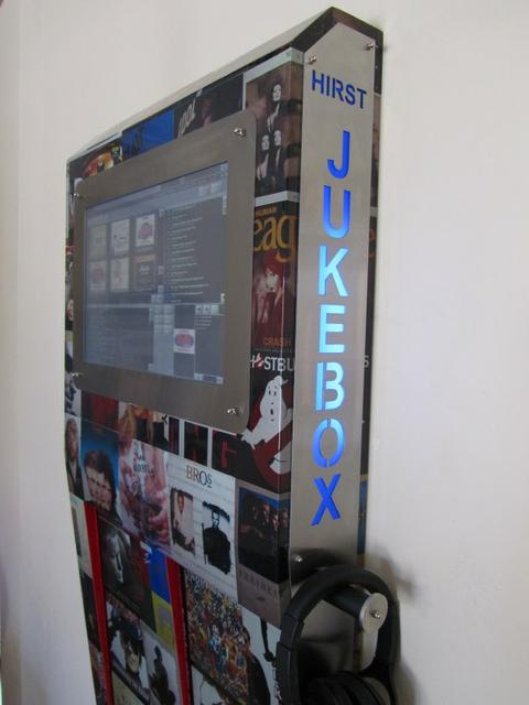 how to build a touchscreen jukebox