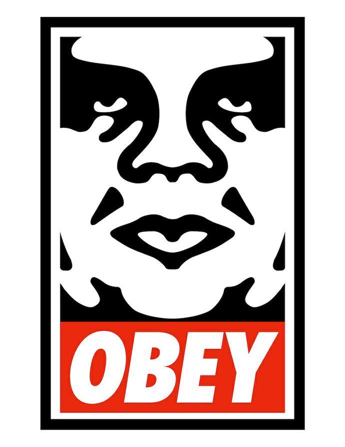 Artist obey usa graffiti south africa
