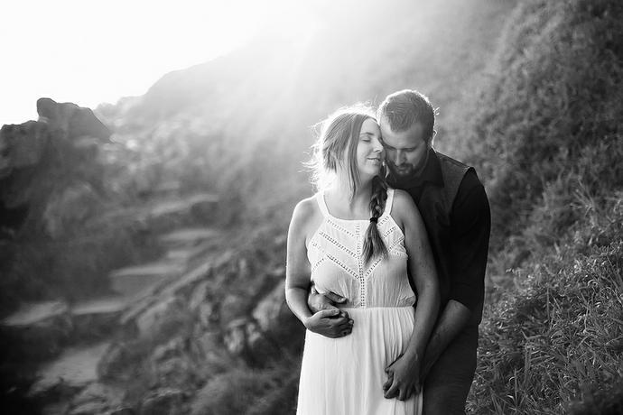 Plettenberg Bay Couple Portraits - Rohan & Jennifer