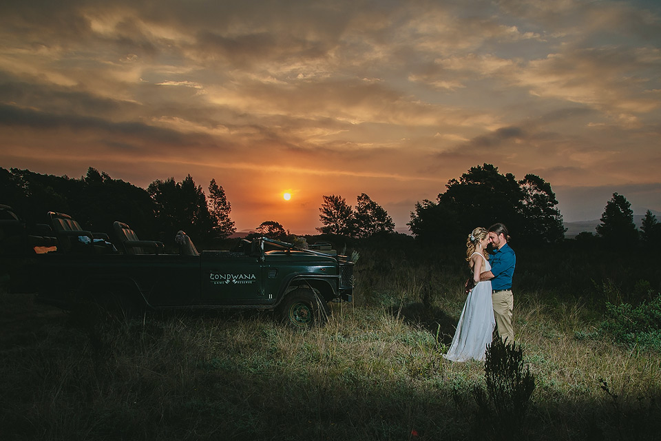 Gondwana reserve wedding