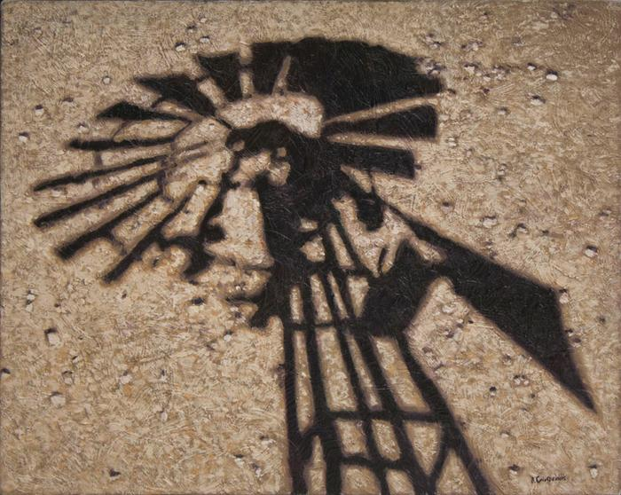 Windmill shadow - SOLD