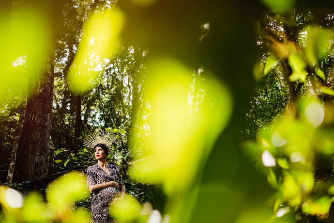 Knysna Forest Maternity Photography with the Lourens Family