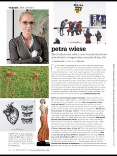 Petra Wiese - Director Young Blood Arts & Culture Development