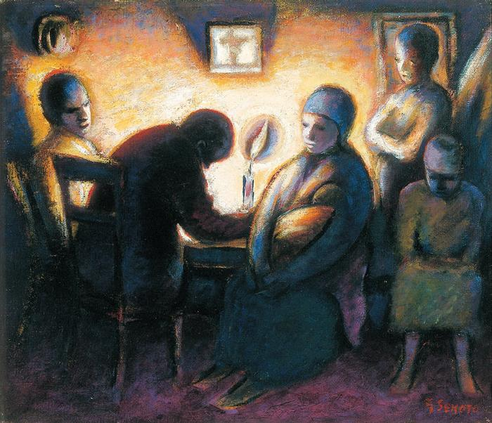 The evening prayer