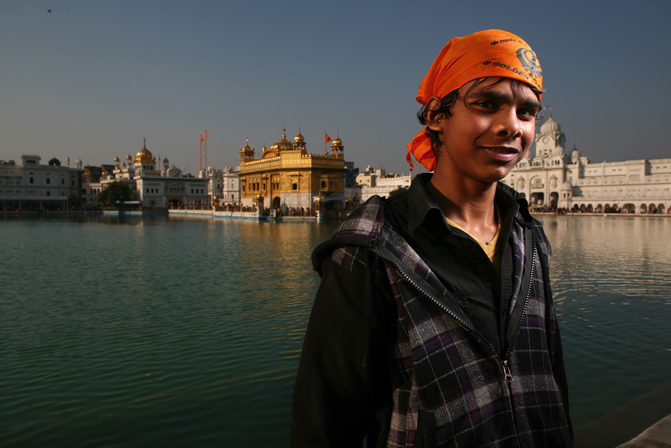 Golden Temple Portrait
