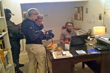 Shooting in SIndiwe's study