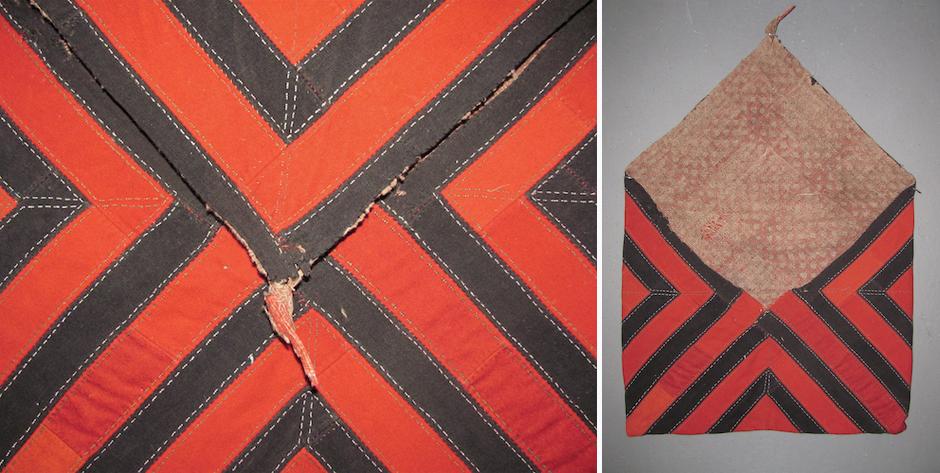 Turkmen felted wool mafrash bag  • late 19th cent