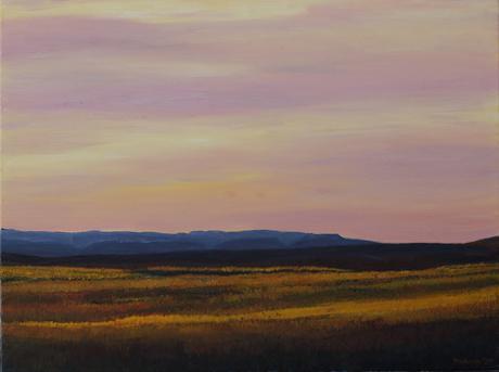 Karoo Sky / 2020 / 76cm x 1016cm / Oil on Canvas