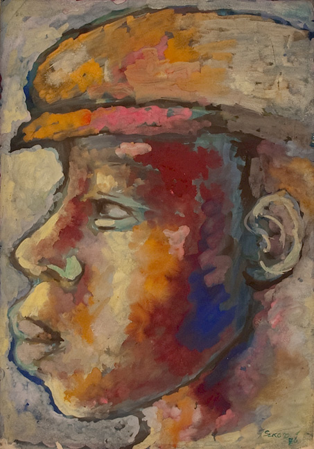 Head of a man - SOLD