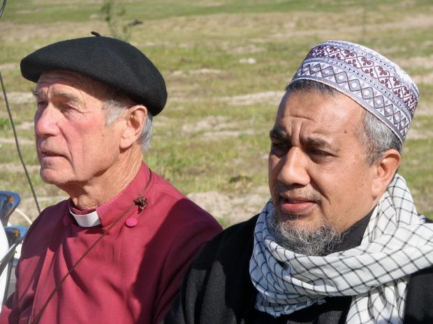 Bishop Geoff Davies and Sheikh Ridwaan Gallant
