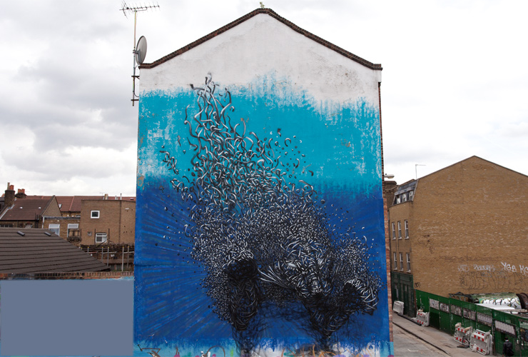 The Amazing Murals by DALeast are Filled with Energy and Ferocity
