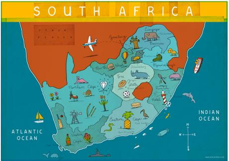 thumbnail for MAP OF SOUTH AFRICA