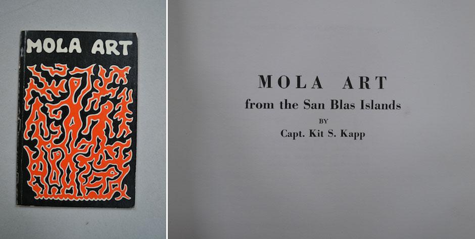 KAPP, Capt. Kit S.  Mola Art from the San Blas Islands, 1972 •  #3294 £5 / US$8