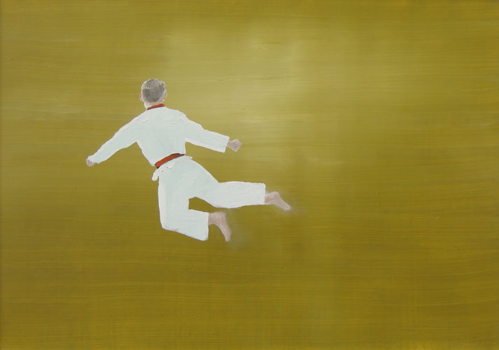 W1- W17, oil on board, 30 x 42 cm, 2006 (17 panels)