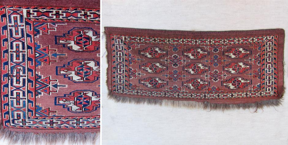 Turkmen Yomut torba • late 19th cent
