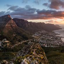 Cape Town Table Mountain Pano