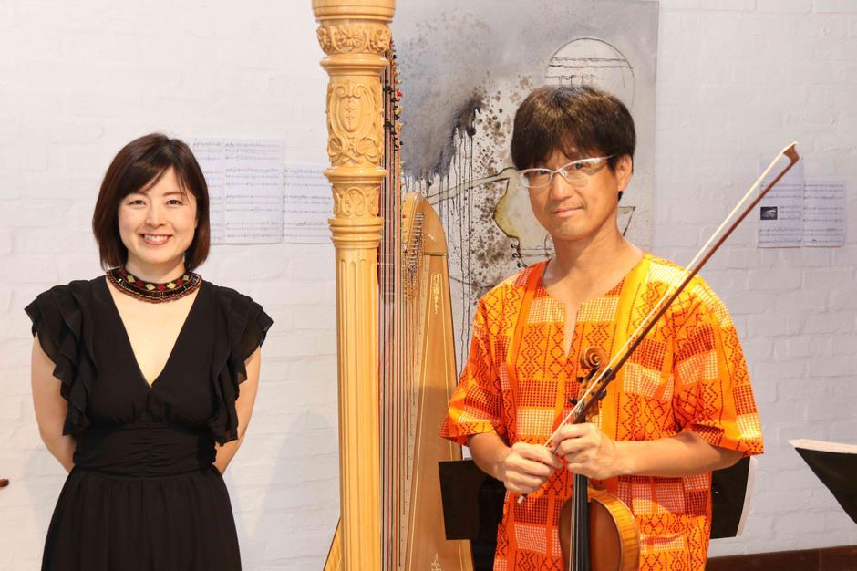 Takayo Matsumura and Yasutaka Hemmi