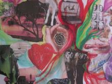 Jen's artwork depicting a time of deep pain - and hope