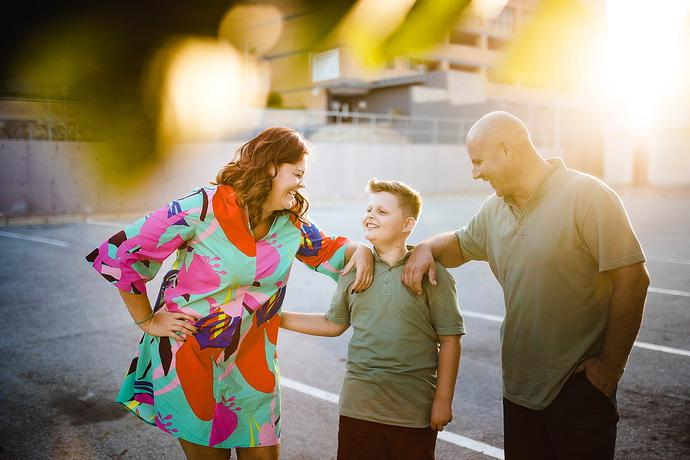 Creative Urban Family Photo Shoot in Mossel Bay