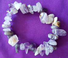 Amethyst, large chips