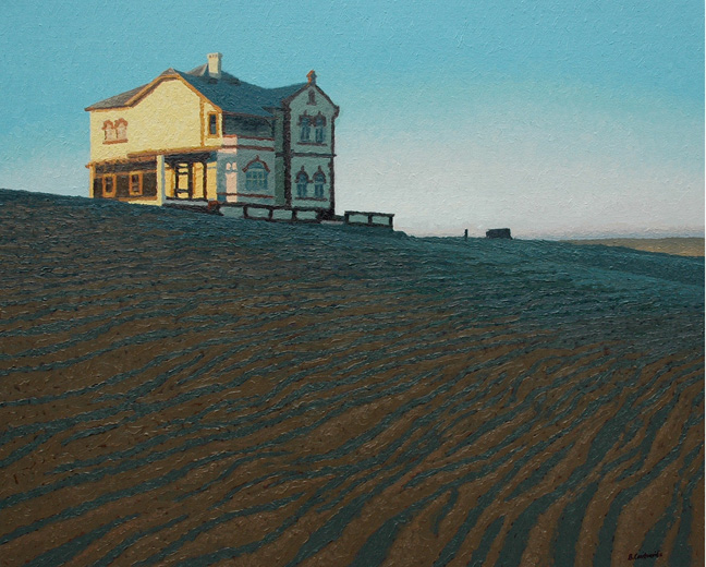 Kolmanskop dawn - SOLD