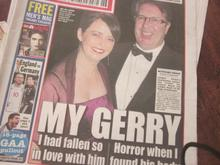 Melanie was in the Irish media constantly due to her relationship with broadcaster Gerry Ryan