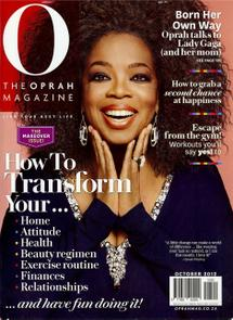 Thumbnail for O Magazine - Oct 2012