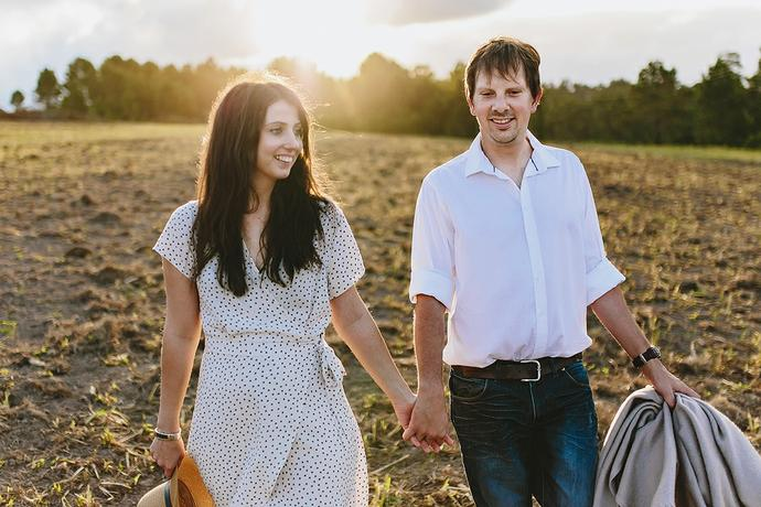 Farm Couple Portraits - Leon & Venoesjka