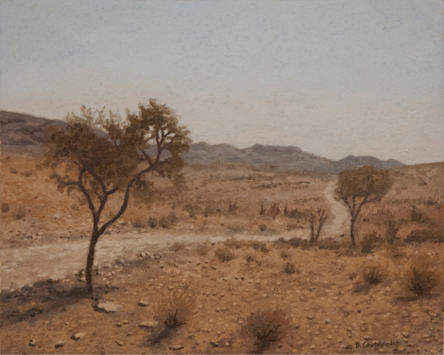 Namibian scene - SOLD