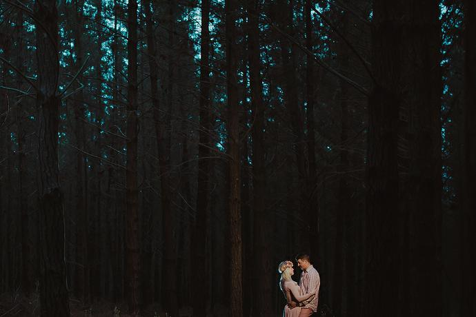 Forest Couple Shoot - Wihann & Nadine