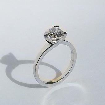thumbnail for Diamond Trident Ring