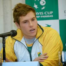 Thumbnail for DAVIS CUP: SOUTH AFRICA vs RUSSIA OFFICIAL DRAW PICS