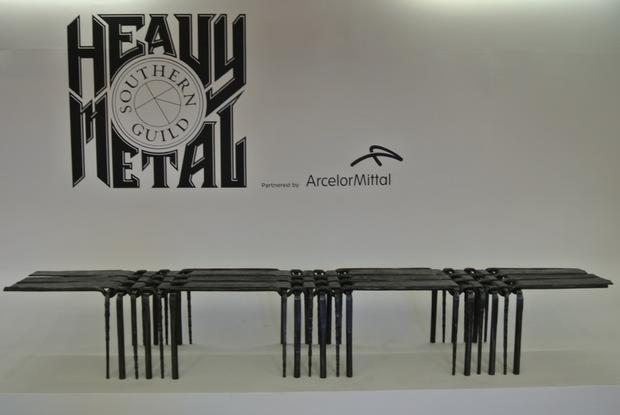 Woven Bench 1 - Heavy Metal Exhibition 2012