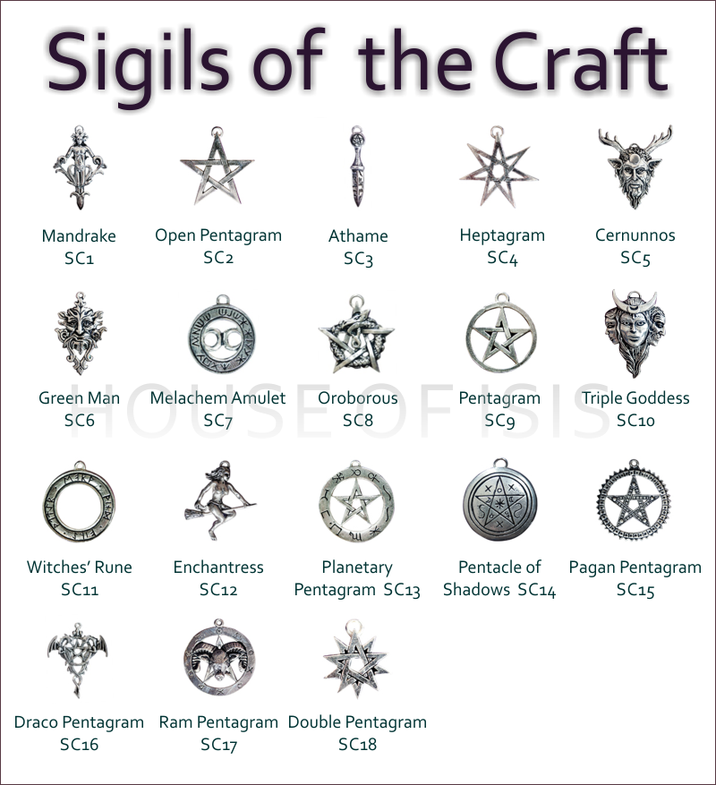 sigils of the craft house of isis