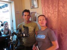 Cameraman Tim Wege & Director Izette Mostert