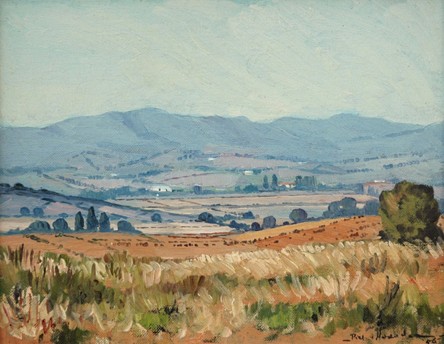 Landscape near Wellington - SOLD