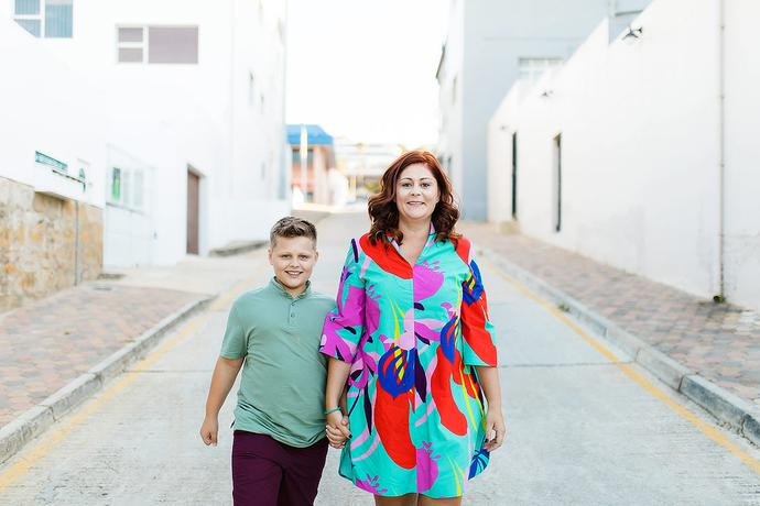 Creative Urban Family Photo Shoot in Mossel Bay