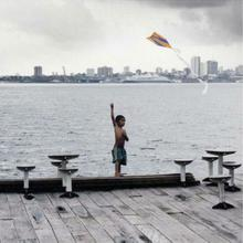 thumbnail for Kite Flyer on Floating Cafe | Amazon River Basin | Manaus | Brazil