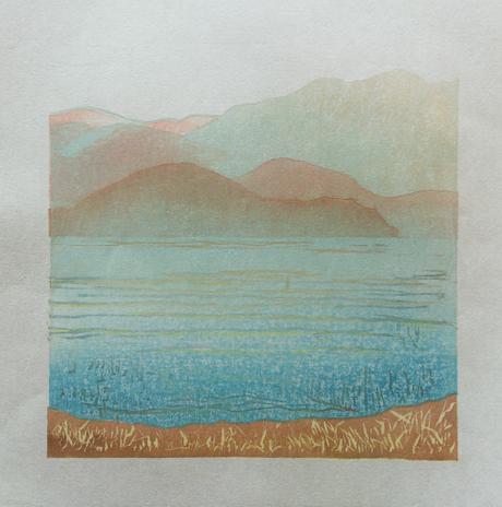 Lake Kawaguchiko Mist