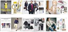 A Selection of Mens & Womens Upfront Shopping Pages